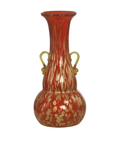 Dale Tiffany Favrile Vase, 5 x 10
