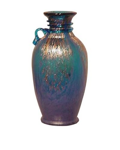 Dale Tiffany Blue Vase, 5 x 10
