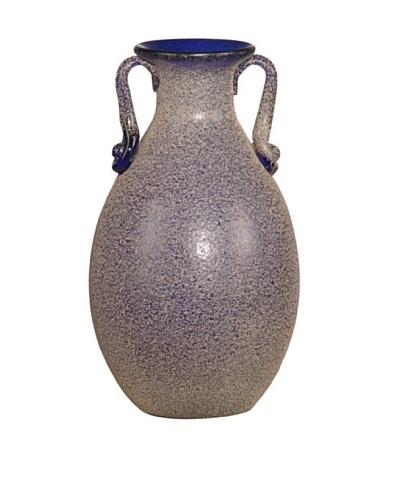 """Dale Tiffany Favrile Vase, 4.5"""" x 8"""""""