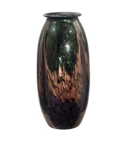 Dale Tiffany Favrile Vase, 7.5 x 17
