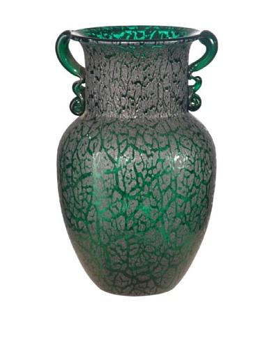 Dale Tiffany Favrile Vase, 6 X 9