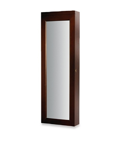 Dalton Home Collection Over-the-Door/Wall Hanging Lighted Jewelry Armoire