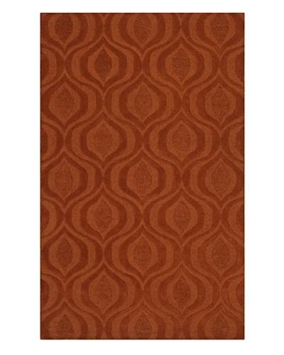 Dalyn Tones Geometric Wool Rug [Pumpkin]