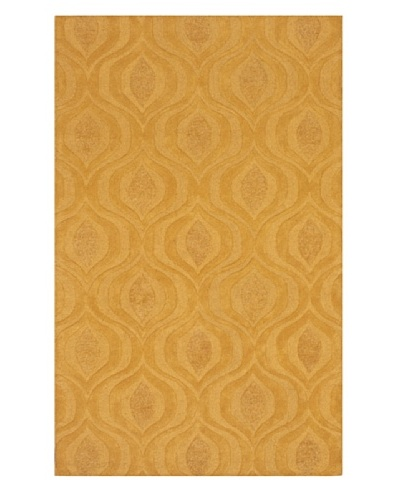 Dalyn Tones Geometric Wool Rug [Banana]
