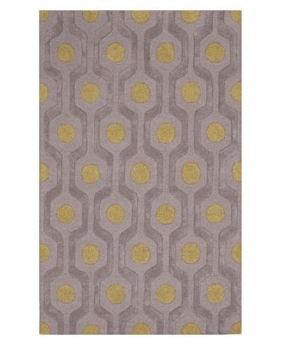 Dalyn Tones Geometric Wool Rug [Pewter]