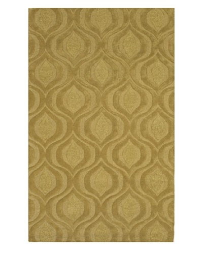 Dalyn Tones Geometric Wool Rug, Lime [Lime]