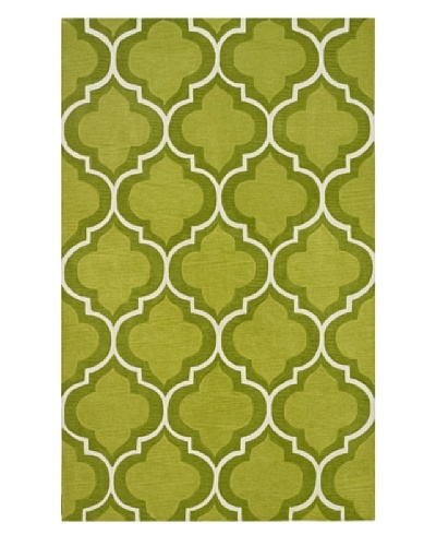 Dalyn Infinity Geometric Rug [Lime]