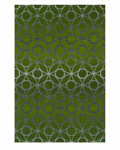 "Dalyn Tempo Rug, Lime Zest, 5' 3"" x 7' 7"""