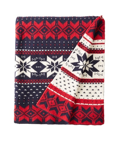 Darzzi Wonderland Throw, Red