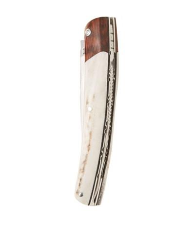 David Arbalete Le Thiers Deer Wood/Amourette Wood Folding Knife