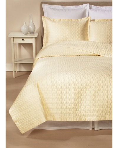Dea Quilted Coverlet Set [Beige]