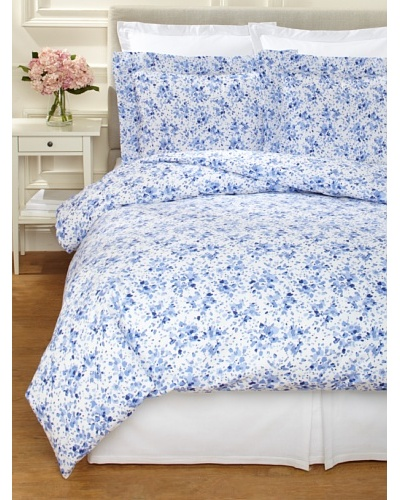 Dea Machilina Printed Fabric Duvet Set [Blue]