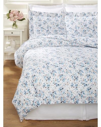 Dea Machilina Printed Fabric Duvet Set [Turquoise]