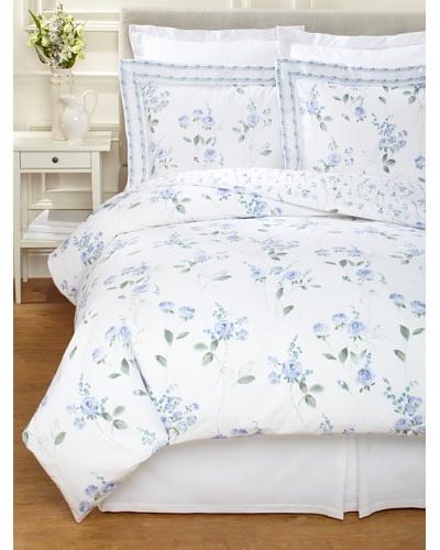 Dea Cezane Printed Roses Duvet Set [Blue]