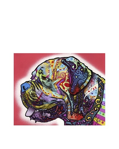 "Dean Russo ""Profile Mastiff"" Limited Edition Giclée Canvas"