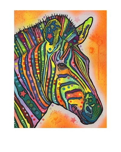 Dean Russo Zebra Wildlife Series Limited Edition Giclée Canvas