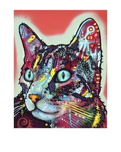 Dean Russo Curious Cat Limited Edition Giclée Canvas