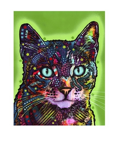 Dean Russo Watchful Cat Limited Edition Giclée Canvas