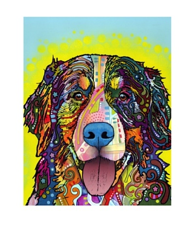Dean Russo Bernese Mountain Dog Limited Edition Giclée Canvas