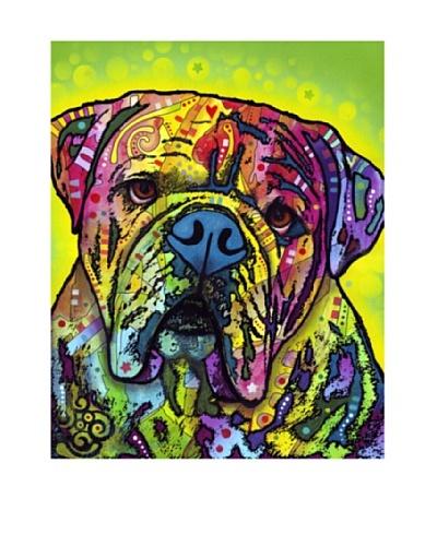 Dean Russo Hey Bulldog Limited Edition Giclée Canvas
