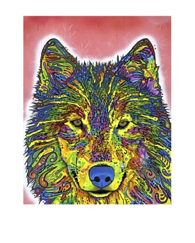 """Dean Russo """"Wolf"""" Wildlife Series Limited Edition Giclée Canvas"""