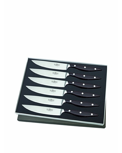 Del Ben 6-Piece Essentium Forged Handle Steak Knife Set