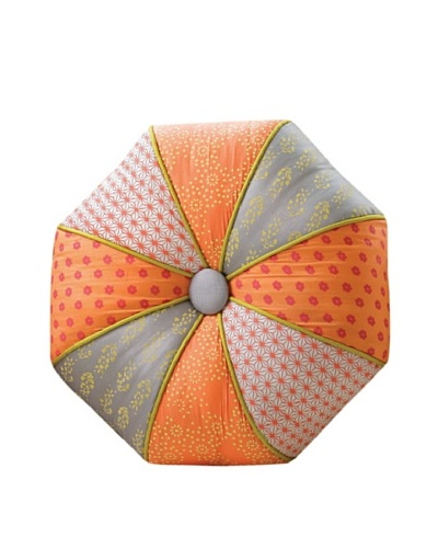 Global Views Autumn Kimono Pillow-Round