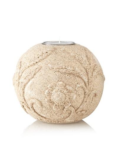 Florero Sandstone Tealight Holder, Large