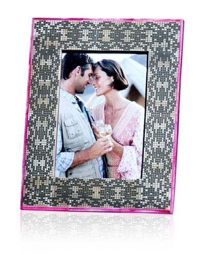 Shiraleah 5 x 7 Block-Print Bone Picture Frame
