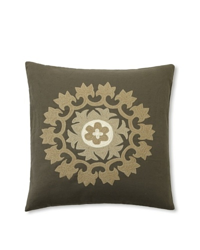 Design Accents Embroidered Motif [Olive]