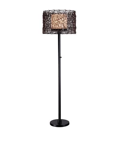 Design Craft Sable Outdoor Floor Lamp