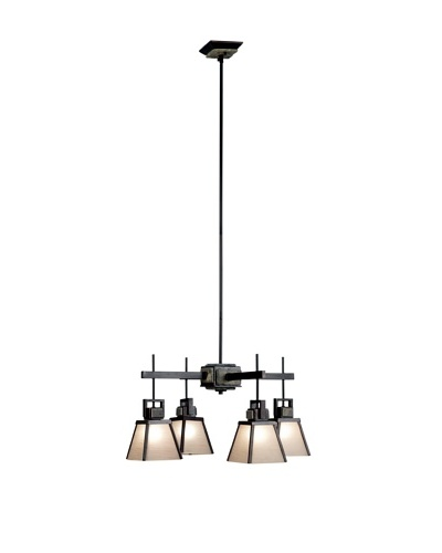 Design Craft Lafayette 4 Light Chandelier