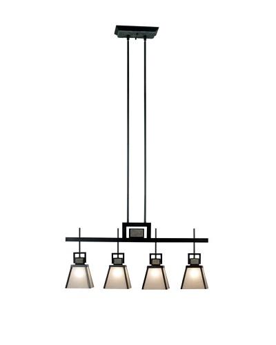Design Craft Lafayette 4 Light Island Light