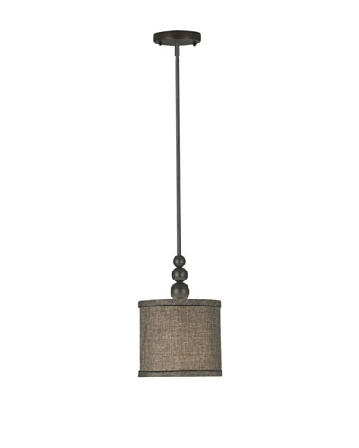 Design Craft Clark 1-Light Mini Pendant