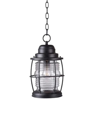 Design Craft Port Hanging Lantern, Aged Iron