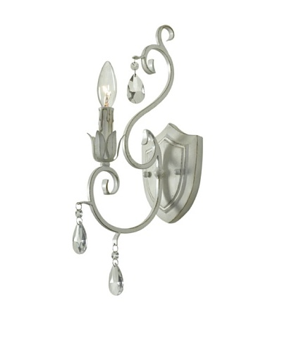 Design Craft Garmat 1 Light Wall Sconce