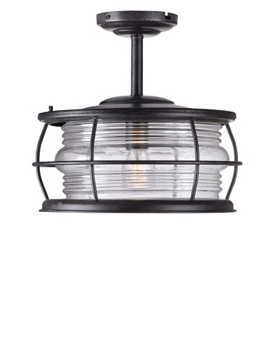 Design Craft Port Semi-Flush Ceiling Light