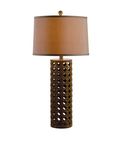 Design Craft Cut-Out Table Lamp