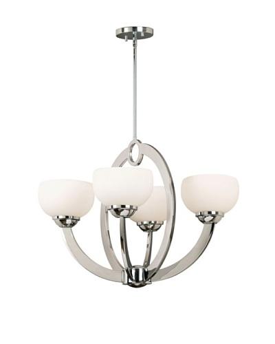 Design Craft Vera 4 Light Chandelier
