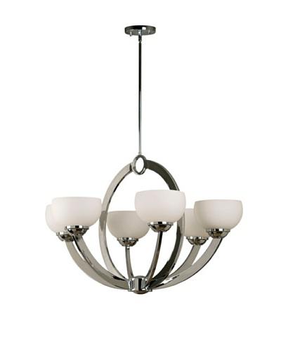Design Craft Vera 6 Light Chandelier