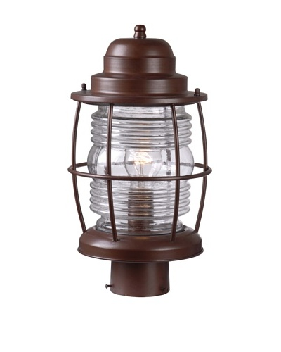 Design Craft Port Post Lantern, Copper