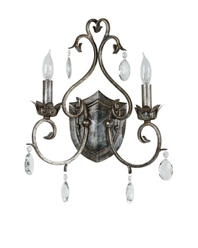 Design Craft Elizabeth 2 Light Sconce