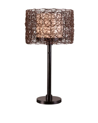 Design Craft Sable Outdoor Table Lamp