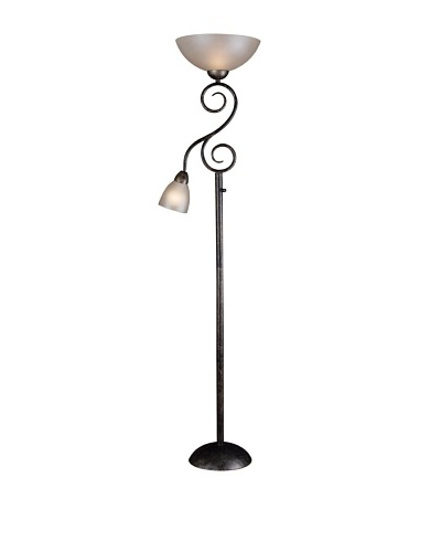Design Craft Lighting Treble Mother & Son Torchiere