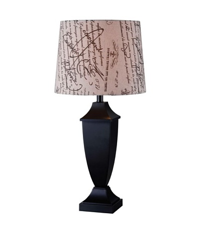 Design Craft Lighting Bauer Table Lamp