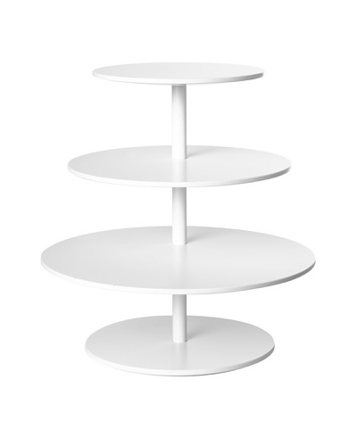 Design House Stockholm Twist Table, White