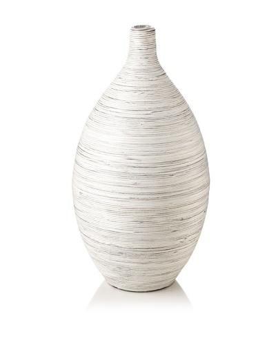 Design Ideas Setai Ellipse Vase [Whitewash]