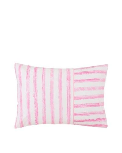 Designers Guild Magnolia Tree Boudoir Sham, Pink/White, 12 x 16