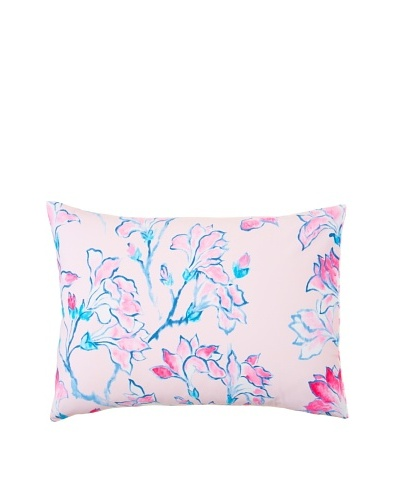 Designers Guild Magnolia Tree Pillowcase, Pink Multi, Standard