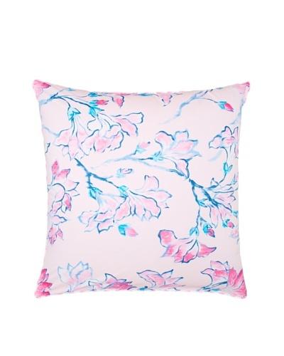 Designers Guild Magnolia Tree European Sham, Pink Multi, 26 x 26